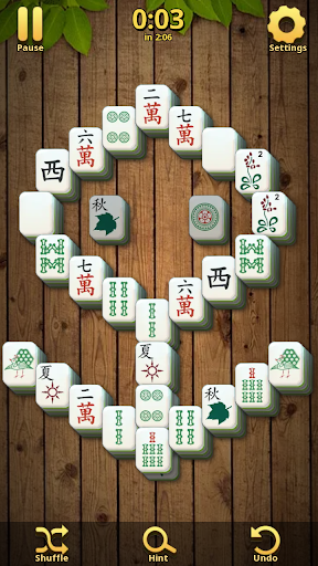 Mahjong Solitaire Classic : Tile Match Puzzle 2.1.16 screenshots 4