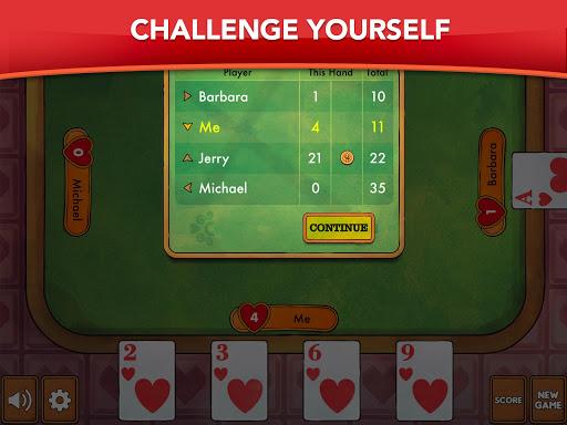 Hearts - Card Game Classic apktram screenshots 12