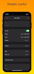 iCalendar MOD APK- Calendar iOS style [Pro Unlocked] 10