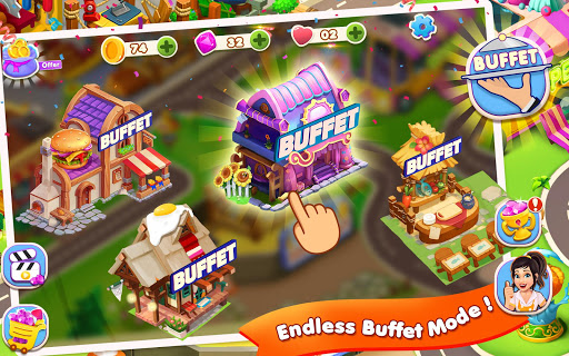 Restaurant Fever: Chef Cooking Games Craze APK MOD – Monnaie Illimitées (Astuce) screenshots hack proof 2