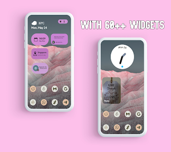 Android 12 Widgets KWGT Apk (PAID) 4