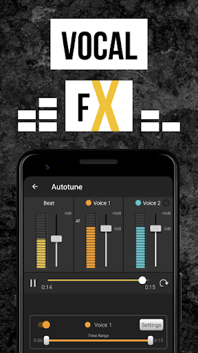 Rap Fame - Rap Music Studio with beats & vocal FX  screenshots 3