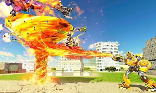 Tornado Robot games-Hurricane Robot Transform Wars 6