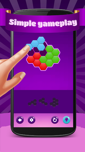 Hexa Puzzle Hero screenshots 2