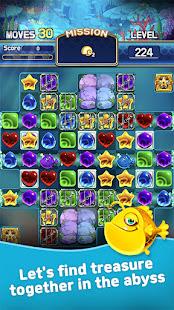 Jewel Abyss: Match3 puzzle Apkfinish screenshots 1