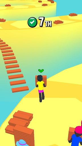 Stickman Fall | Running Stick Guys 3D Varies with device screenshots 7