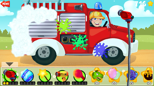 Amazing Car Wash For Kids FREE 3