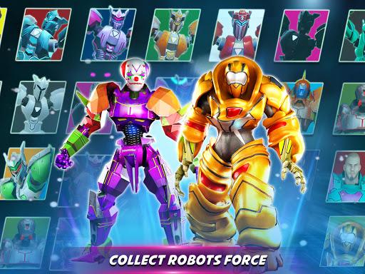 Robot X Street Battle: Beat Em Up Warrior Assassin apkmr screenshots 8