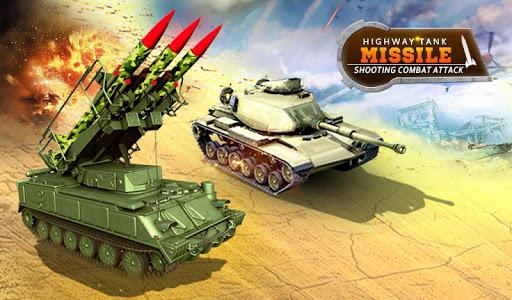 Missile Attack Combat Tank Shooting War Screenshot 1