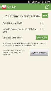 SMS Scheduler Free Screenshot