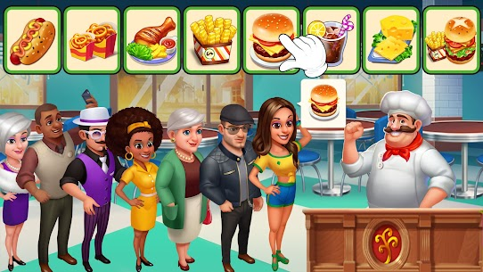 Crazy Chef: Fast Restaurant Cooking Games 1