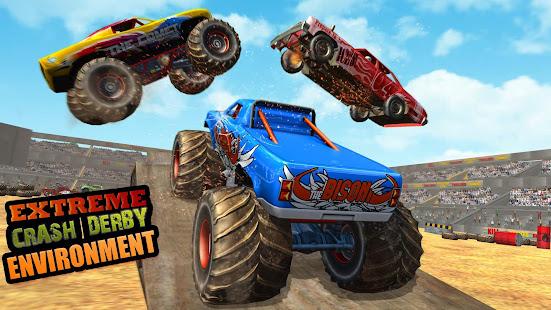 Police Demolition Derby Monster Truck Crash Games 3.3 APK screenshots 2