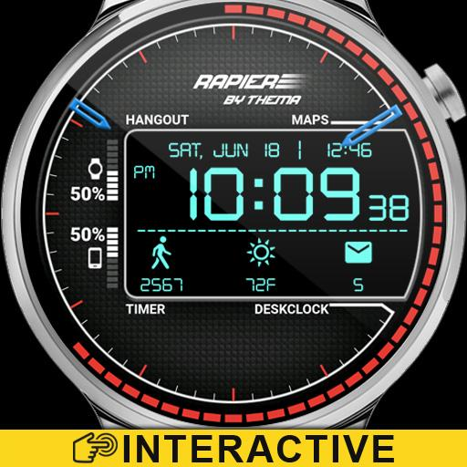 Rapier Watch Face & Clock Widget Icon