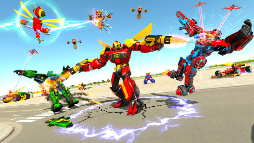 Dragon Fly Robot Car Transform screenshots 2