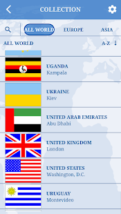 The Flags of the World - Country flags quiz