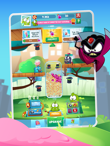 Om Nom Idle Candy Factory android2mod screenshots 7