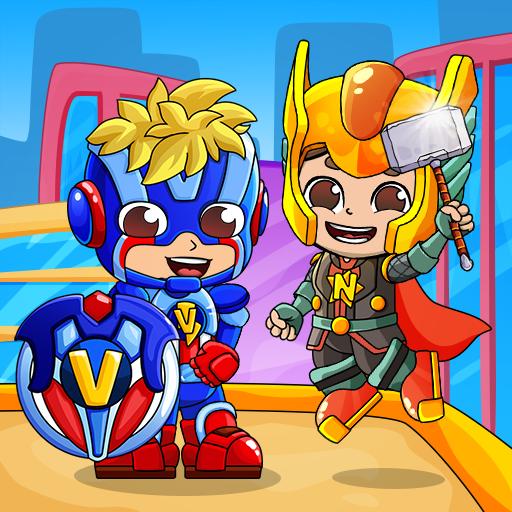 Superbohaterowie Vlad i Niki