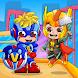 ウラドとニキのスーパーヒーロー