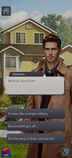 Criminal Stories: Detective games with choices apkslow screenshots 8
