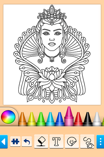 Mandala Coloring Pages 15.2.0 screenshots 17