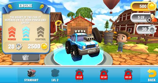 cartoon hot racer 3d premium screenshot 2