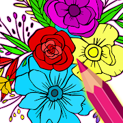 Flowers Color by Number - Colorscapes Paint Art