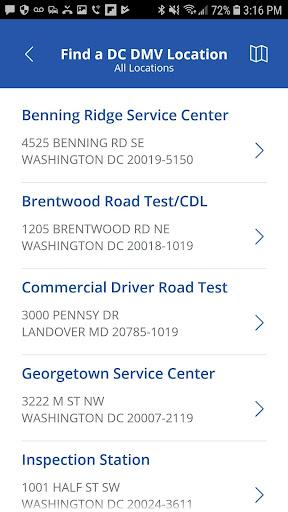 DC DMV screenshot 3