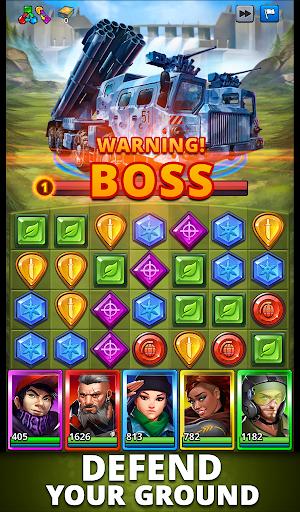 Puzzle Combat: Match-3 RPG Apkfinish screenshots 21