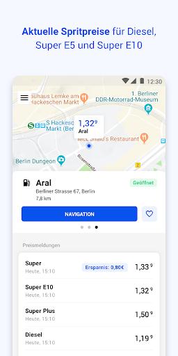 TankenApp mit Benzinpreistrend  screenshots 3