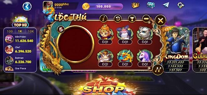 Luxy Vip: Slot Danh Bai NoHu 2