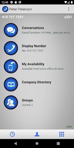 onrelay office phone screenshot 1