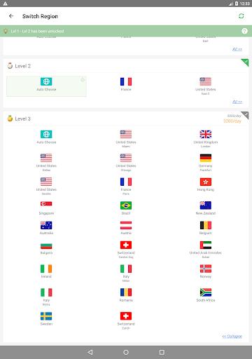 Yoga VPN - Free Unlimited & Secure Proxy & Unblock Apkfinish screenshots 9
