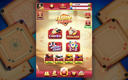 Carrom Friends : Carrom Board & Pool Game 1.0.31 screenshots 14