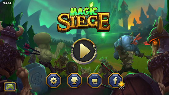Magic Siege - Castle Defender Screenshot