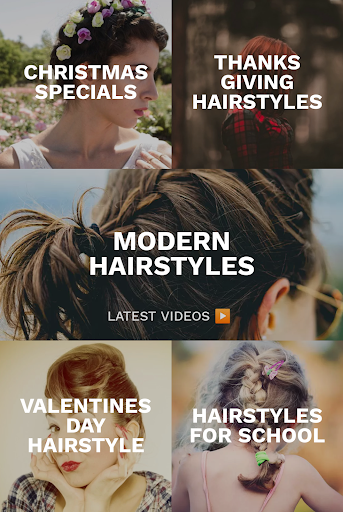 Hairstyles for your face : Free Hair salon 3.0.153 Screenshots 1