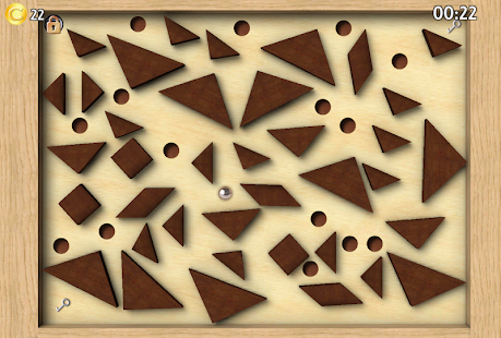 Classic Labyrinth 3d Maze - The Wooden Puzzle Game Screenshot