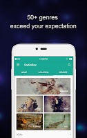 screenshot of RadioBox- Powered by ContentBox