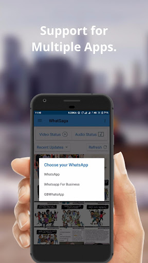 WhatSaga   Story Split   Save Status 1.9.5 Screenshots 6