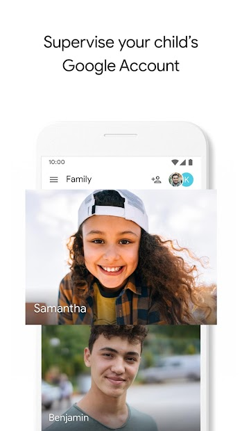 Google Family Link for parents Android App Screenshot