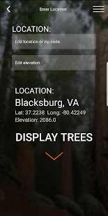 Virginia Tech Tree ID Screenshot