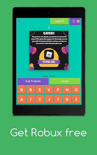 Get Robux Free - Quiz 2021  screenshots 16