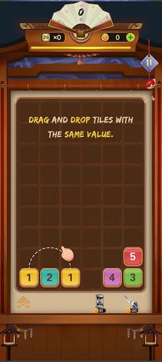 Zen Merge - Drag n Merge Block Game apktreat screenshots 2