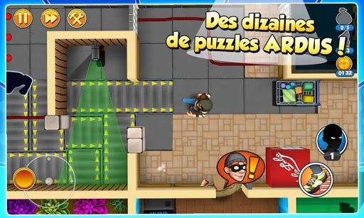 Télécharger Robbery Bob 2: Double Trouble APK MOD (Astuce) screenshots 2