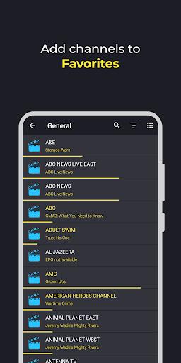 Televizo - IPTV player  Screenshots 2