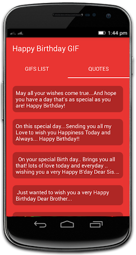 Happy Birthday GIF 13.0 Screenshots 8