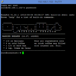 Openwrt on Android 1.0.90 by Droiter logo