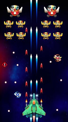 Galaxy Attack: Robot Transform Chicken Shooter 12.1 screenshots 5
