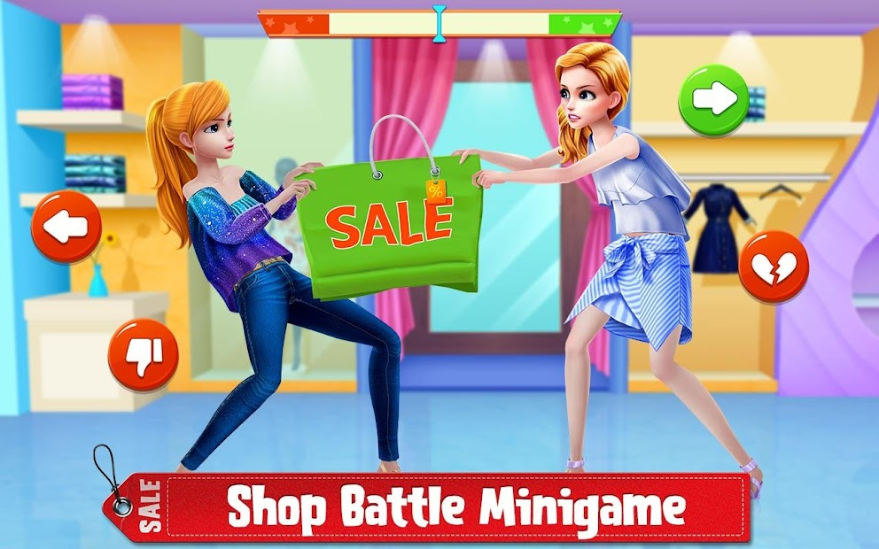 Shopping Mania - Black Friday Fashion Mall Game screenshot 1