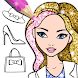 Fashion Coloring Book Glitter - Androidアプリ