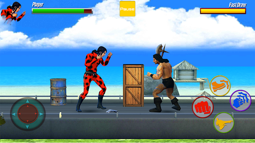 City Street Fighting Game: Karate Masters apkmr screenshots 4